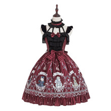 2019 original Rose Knight Lolita dress lolita daily student Jsk skirt available in two colors