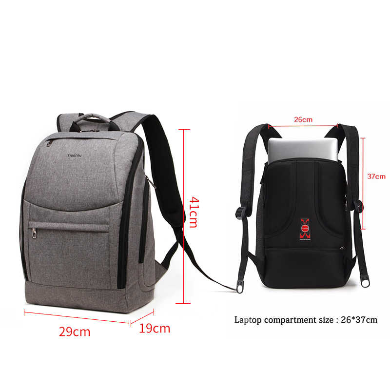 ec8111c67f ... Fashion Women Backpack Tigernu Brand Notebook Bags for 14 Inch waterproof  Backpack Bag Men School Backpack ...
