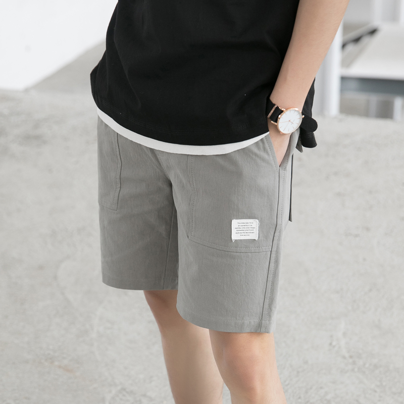 MYAZHOU Mens Fashion Wild Color Casual Beach Shorts