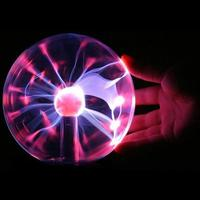 Plasma Ball Magic Moon Lamp USB Electrostatic Sphere Light Bulb Touch Novelty Project Home Decoration Accessories
