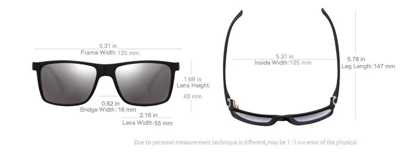 4a32e9e17c3d5 JULI Brand HD Polarized Sunglasses Men Male Polaroid Sun Glasses ...