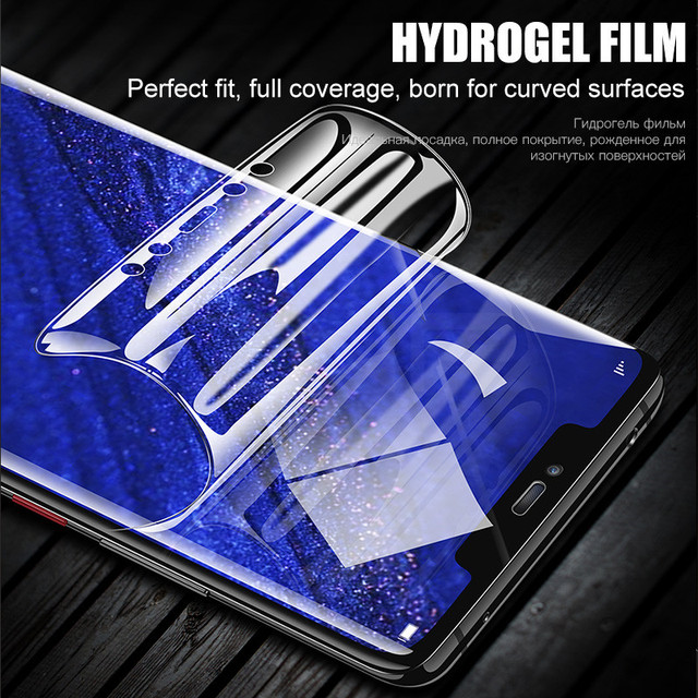 3D Ultra-thin Curved Soft Hydrogel Film For Huawei Mate 20 Pro P30 P20 Pro Lite Screen Protector For Honor 8X Max 10 9 8X Film