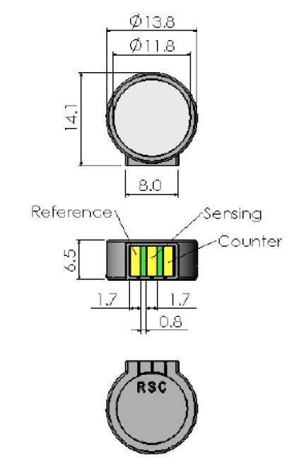 Classic Line MiniCO-500 Sensor CLE-0052-S00