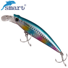 SMART Minnow Bait 92mm 31g Sinking Fishing Lure Isca Artificial Para Pesca Leurre Souple Peche Kunstaas Wobblers Fishing Tackle