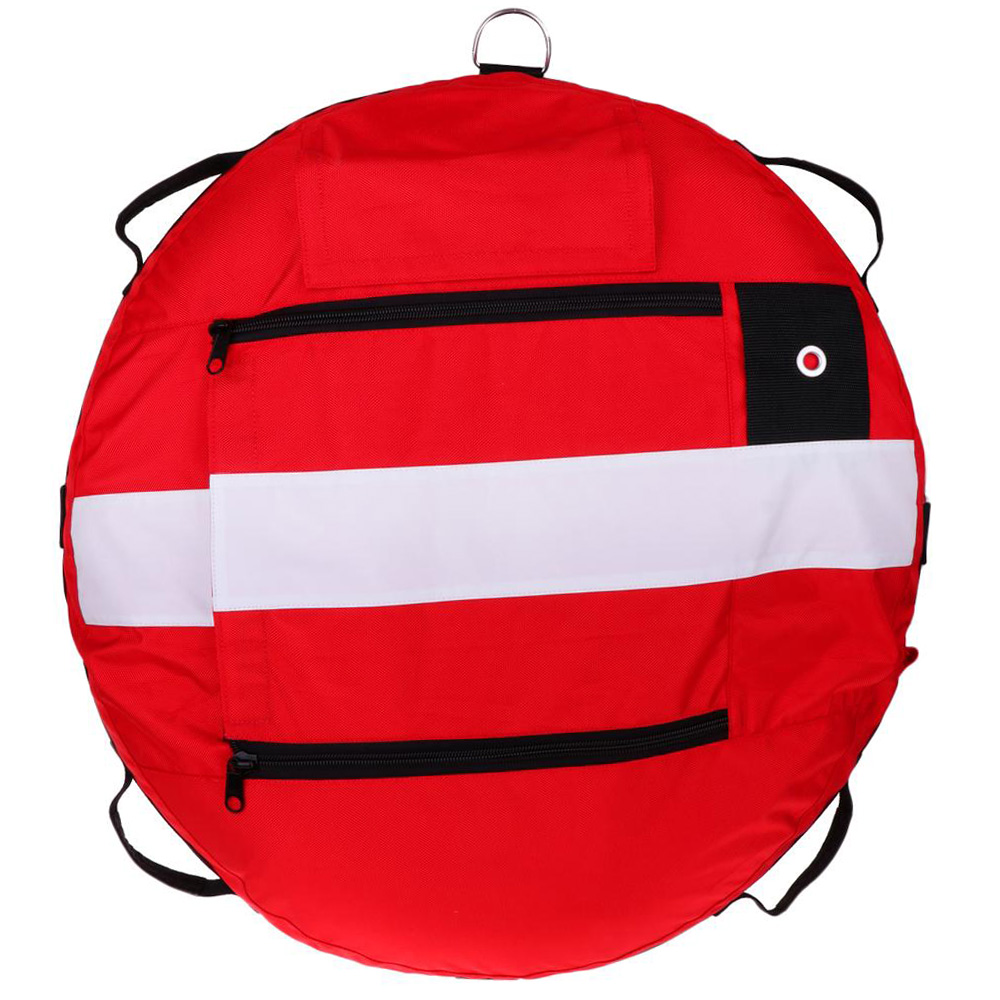 Buoy de entrenamiento de buceo libre Buoy Diver Down bandera flotador marcador de seguridad Buoyancy Signal Float Diving Gear accessroy - 5
