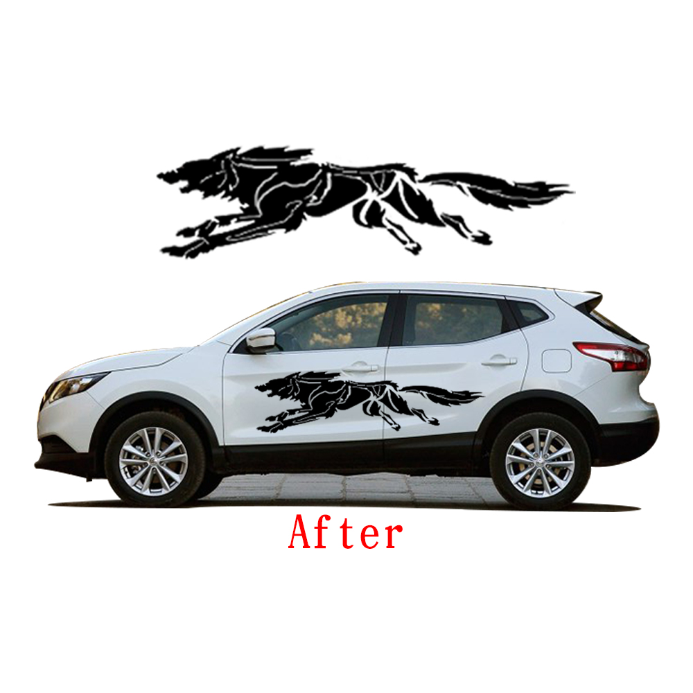 Novo za Nissan Qashqai stajling automobila zavijanje Wolf kreativne - Vanjska auto oprema - Foto 4