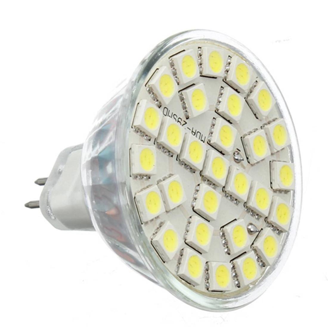 CSS 10X Gu5.3 MR16 5W Cold White 5050SMD 29LED 480LM High Power LED Spotlight Bulbs 220V carprie super drop ship new 2 x canbus error free white t10 5 smd 5050 w5w 194 16 interior led bulbs mar713