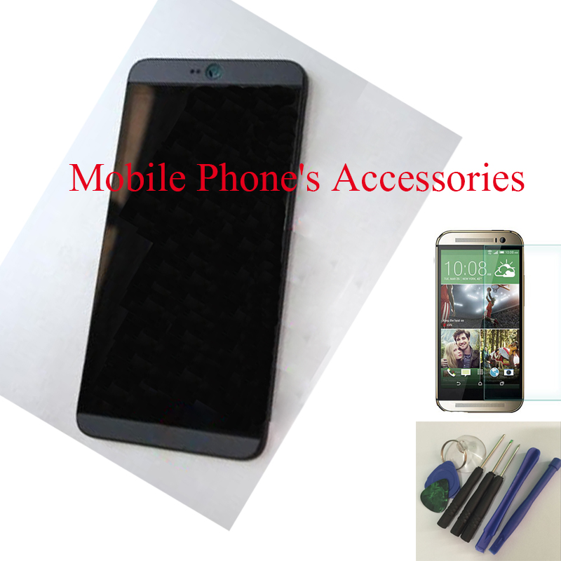 ФОТО New 100% Test LCD Display Touch Screen Digitizer Glass+ Frame Housing For HTC Desire 826 Black With Free Tools