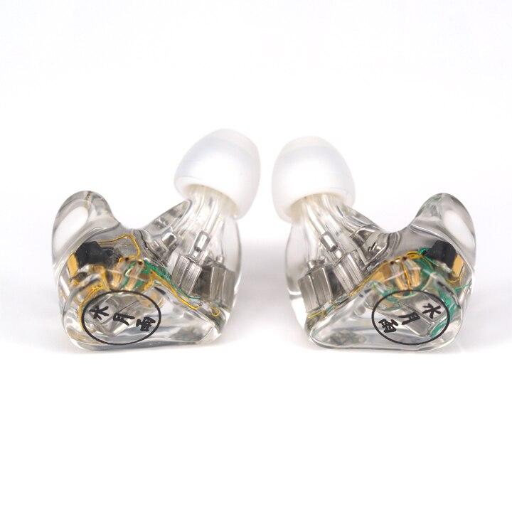 Moondrop A8 8BA in ear earphone 8 drivers per ear HIFI High end earphone