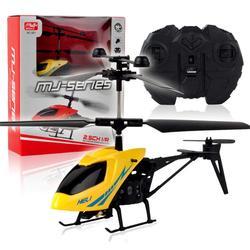 RCtown RC helikopter 2 CH 2 kanałowy Mini RC Drone z Gyro odporny na zderzenia  RC zabawki