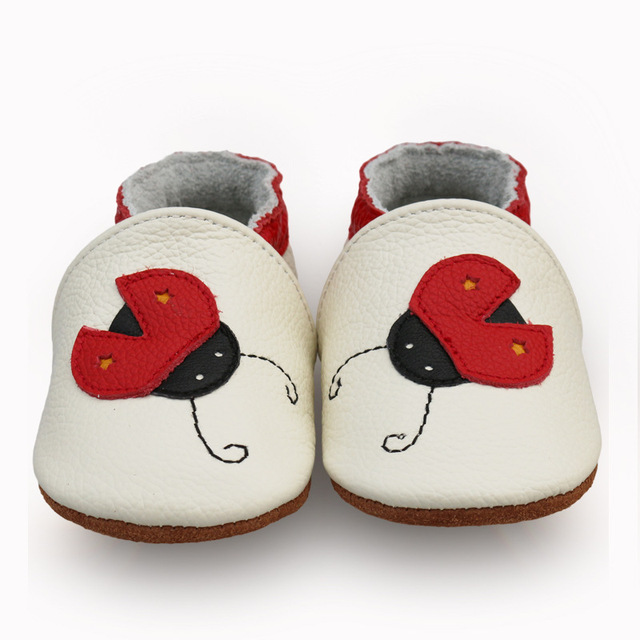 2019 New Skid-Proof Fox Baby Shoes Soft Genuine Leather Baby Boys Girls Infant toddler Moccasins Shoes Slippers First Walkers 3