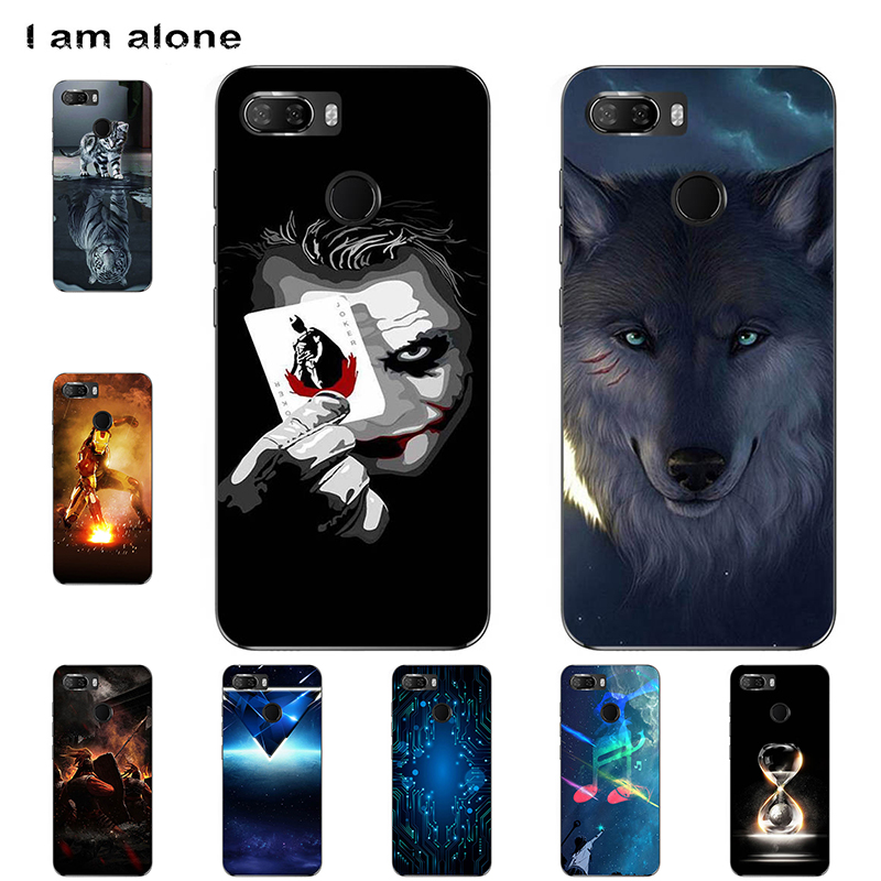 I am alone Phone Cases For Lenovo K5 K350t K5 Note K5 Play K5 Pro 2018 Soft TPU Mobile Cartoon Printed For K5 2018 Free Shipping фото