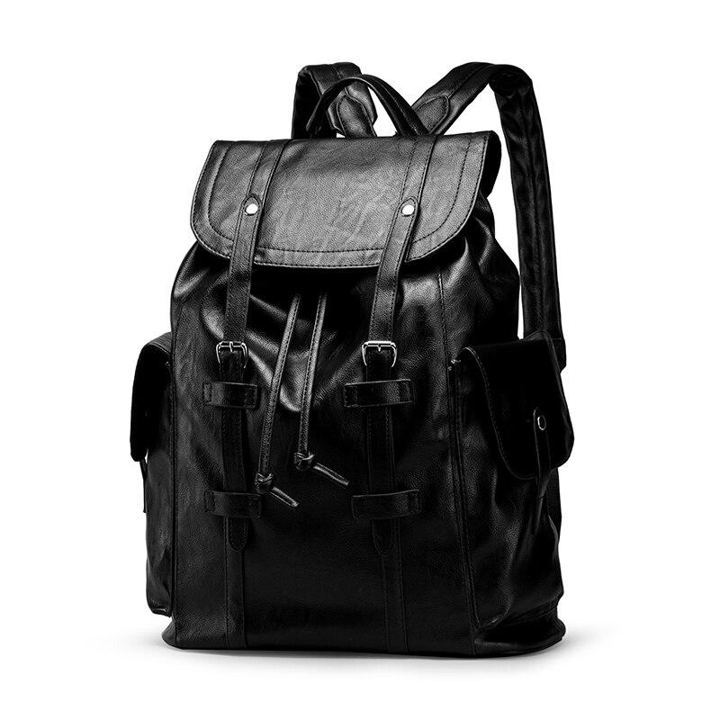 Designer Men Big Backpack Anti-theft USB Charge Waterproof Male Backpacks Fashion PU Leather Large Capacity Travel Bag Mochila lielang men pu leather backpack waterproof large capacity 14 inch laptop bag usb charge camouflage backpack bag mochila rucksack
