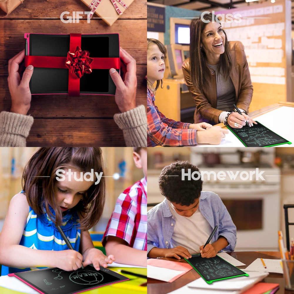 Newyes 8.5 Inci LCD Menulis Tablet Menggambar Digital Tablet Tulisan Tangan Bantalan Elektronik Portabel Tablet Papan Ultra-Tipis Papan