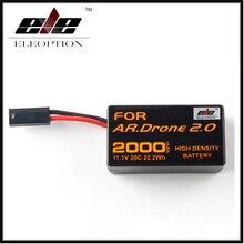 Eleoption Высокой Плотности 2000 мАч 11.1 В Мощный Литий-Полимерный Аккумулятор Для Parrot AR. Drone 2.0 Quadcopter Обновление мощный Аккумулятор