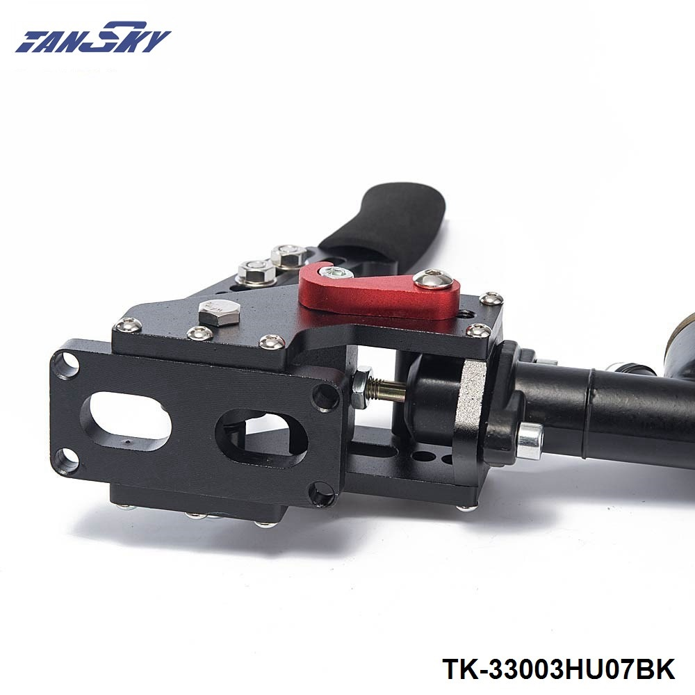 TANSKY Автомобиль Стайлинг гоночный e-тормоз Гидравлический Дрифт ручной тормоз Черный рычаг шестерни и масляный бак цилиндр TK-33003HU07BK