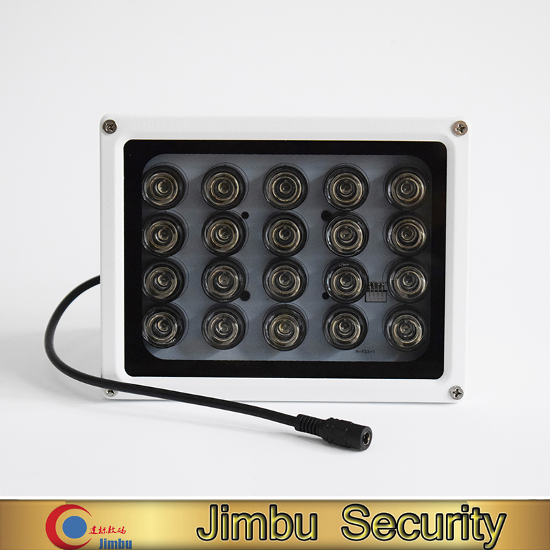 CCTV 20PCS IR LEDS Array IR illuminator infrared CCTV camera lamp light IP65 Metal material Waterproof Night Vision цена