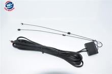 DC3.5 Разъем Автомобиля Аналоговый Антенна Автомобиля аналогового ТВ антенна с встроенный усилитель сигнала Автомобиля ТЕЛЕВИЗИОННАЯ антенна Аналоговый антенна WF