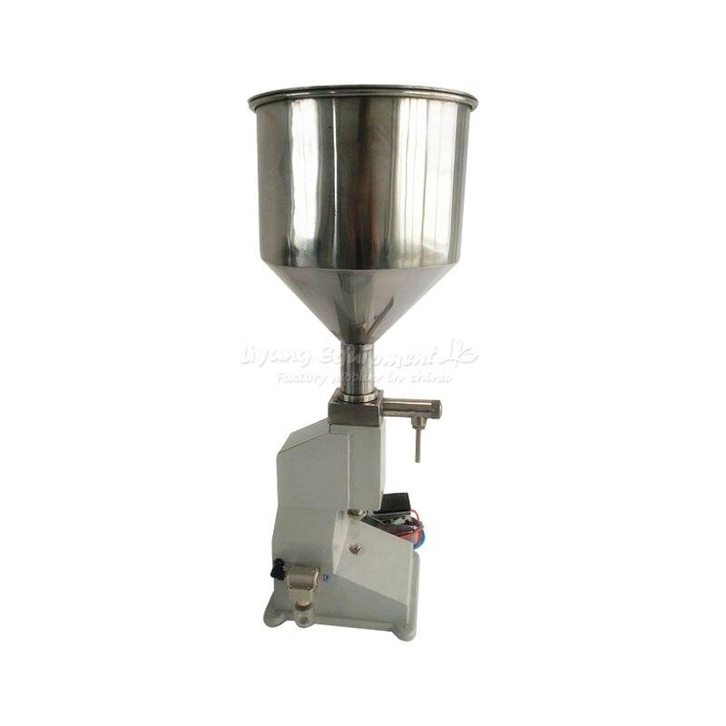Small Pneumatic Filling Machine A02 A03 Paste Honey Liquid Dose