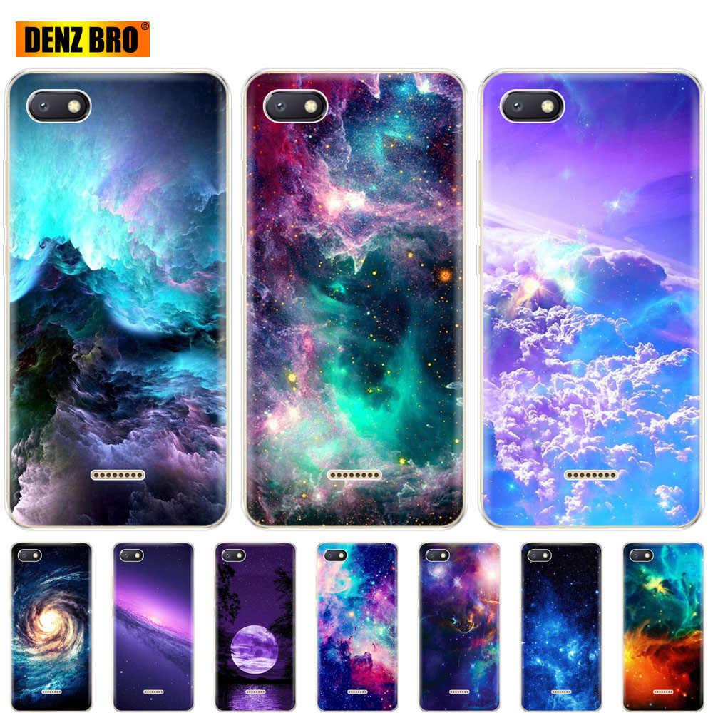 Silicone Case for Xiaomi redmi 6a 6 pro 4a note 3 case for xiaomi A2 lite s2 phone coque bumper for galaxy universe sky colorful