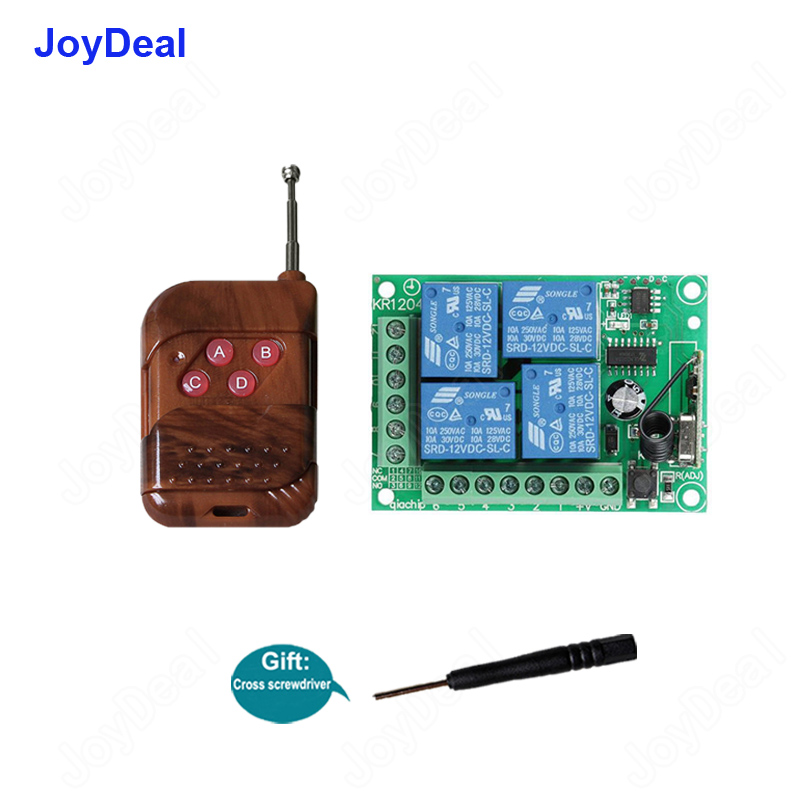 4 Kanal drahtlose Fernbedienung WiFI Smart Home Switch Modul 433MHz # 6