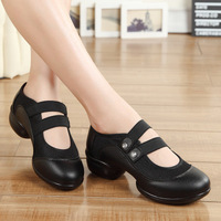 Sports Feature Soft Outsole Breath Dance Shoes Modern Dance Sneakers For Woman Practice Shoes Jazz Shoes