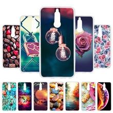 3D DIY Soft Case For Huawei Mate 10 Lite Painted Cover Mate10 G10 Honor 9i Nova 2i Fundas Coque