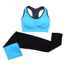 Neue Pcs Frauen Sport Yoga Setzt Weste Hosen Anzüge Workout Laufen Fitness Training Kleidung Mädchen Sport Shirts Frauen Sportswear