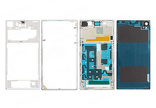 Front /back Middle Frame +front frame +back coverFor Sony Xperia z1 l39h c6903 full housing replacement free shipping