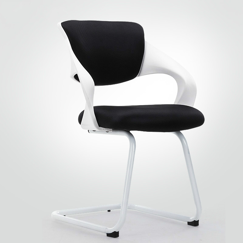New arrival arcuate computer chair home office chair meeting swivel chair mesh staff  seat 6 colors optional computer chair home office chair mobile no handrail small lift swivel chair mesh staff chair