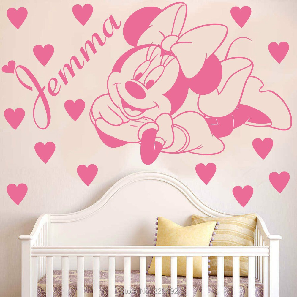 Decoration Chambre Minnie Mouse Ralisscom - Minnie mouse decoration de chambre pour bebe