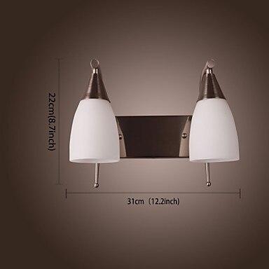 comprar cobre plateado led lmparas de pared modernas luces aplique de pared para dormitorio indoor bao dormitorio porche pasillo