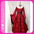 Новых Прибытие Sexy Женский Средневековый Принцесса Длинные Карнавальных Костюмов Платье В Индийском M4736