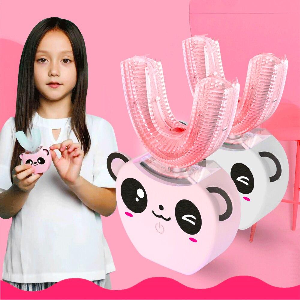 Cepillo de dientes eléctrico sónico automático, 360 °, resistente al agua, inteligente, tipo U, para blanquear|Cepillos de dientes eléctricos| - AliExpress