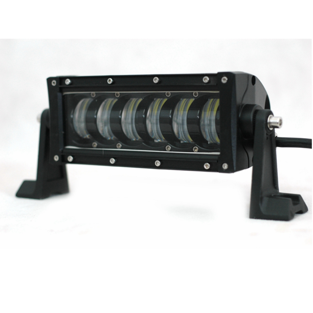 10 48W Single Row Spot LED Light Bar Driving Lamp LED Work Light High Low Beam for Off Road Truck Car ATV SUV mz 22 120w 9600lm 30┬░ spot led work light bar off road suv atv fog lamp white yellow light 10 30v