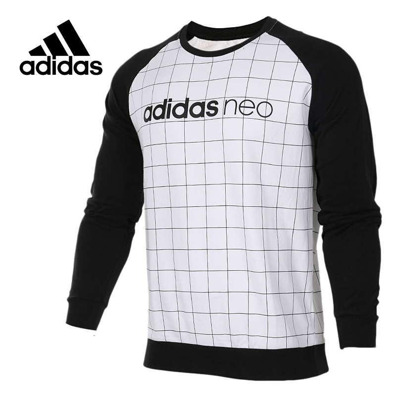 Adidas Original New Arrival Official NEO Men's O-Neck Pullover Jerseys Sportswear CD3286 original adidas men s knitted pullover ab4373 ab4374 jerseys sportswear free shipping