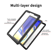 galaxy s4 For Samsung Galaxy Tab S4 Case Shock Dirt Snow Proof Protection With Touch ID for Galaxy Tab S4 10.5 inch Cover Clear New (3)