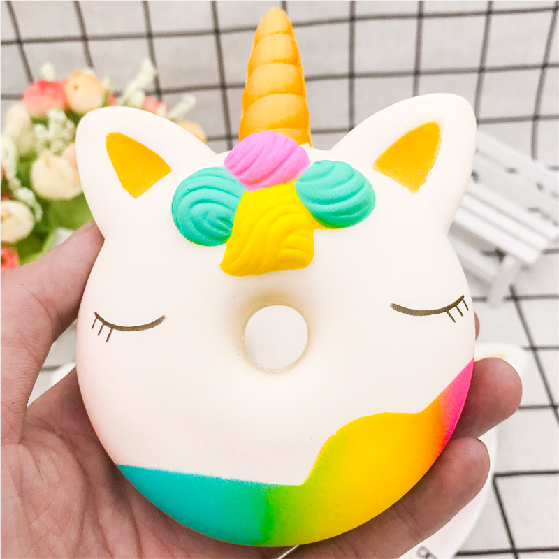 Slow Rebound Unicorn Toy Unicorn Squishy Pressure-relief Toys Venting Relaxing Toys  Release Stress Big Squishy Squeeze Animal