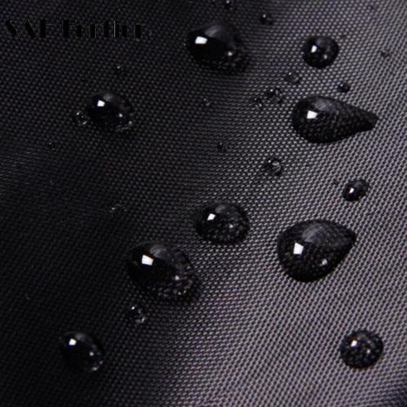Dust Cover Waterproof Outdoor Patio Garden Furniture Rain Snow chair Black covers for Table Chair housse de chaise SQQ4156