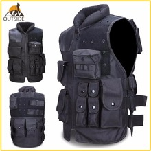 High Quality Tactical Vest Black Mens Military Hunting Vest Field Battle Airsoft Molle Waistcoat Combat Assault Plate Carrier