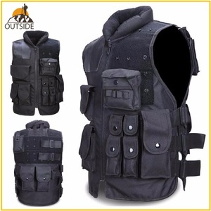 Image 1 - High Quality Tactical Vest Black Mens Military Hunting Vest Field Battle Airsoft Molle Waistcoat Combat Assault Plate Carrier