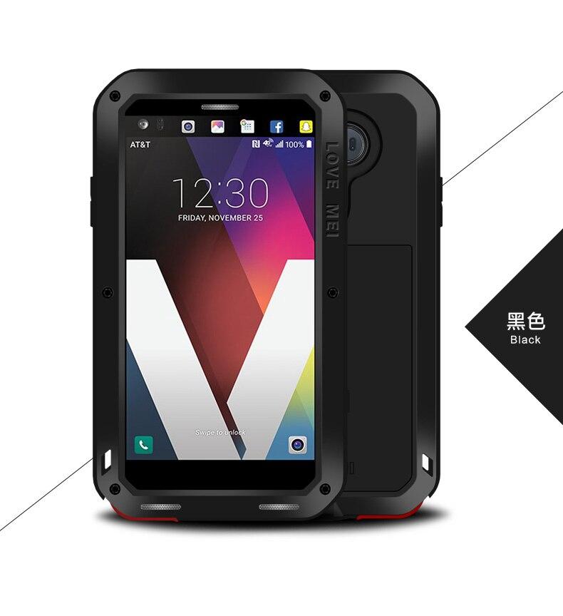 """imágenes para Amor de la Original Mei Potente Caso Para LG V20 prueba de Choques Impermeable De Aluminio Cubierta de la caja con el envío de Cristal Templado para LG V20 5.7"""""""