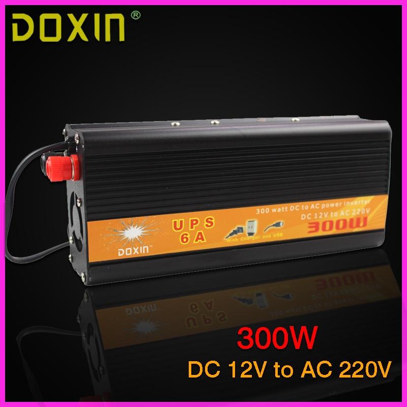 UPS DC AC voiture onduleur 12 V 220 V 300 W universel onduleur sans interruption alimentation automatique Charge ST-N026 voiture chargeur de batterie