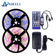 Bluetooth led strip set 5M 10M DC12V LED Strip 5050 60LEDs/m RGB RGBW RGBWW with bluetooth controller APP Remote control