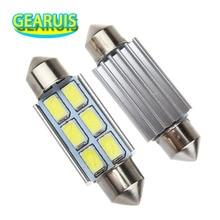 100X Festoon C5W Canbus no error Dome light 6 SMD 5630 LED 31mm 36mm 39mm 41mm / 42mm Reading light white DC 12V