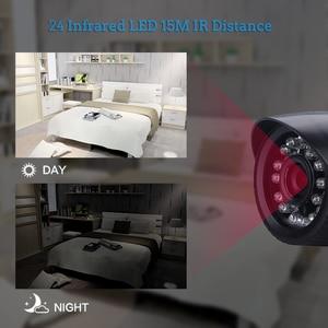 Image 4 - Hamrolte كاميرا تلفزيونات الدوائر المغلقة سوني IMX307 الاستشعار Ultralow الإضاءة نايتفيجن 2.8 مللي متر زاوية واسعة عدسة 2.0MP 1080P في الهواء الطلق كاميرا ahd