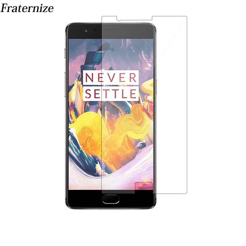 Oneplus 5t Premium Tempered Glass Screen Protector For OnePlus 5 5T OnePlus 3 3T protective film Glass phone protector 9H 2.5D