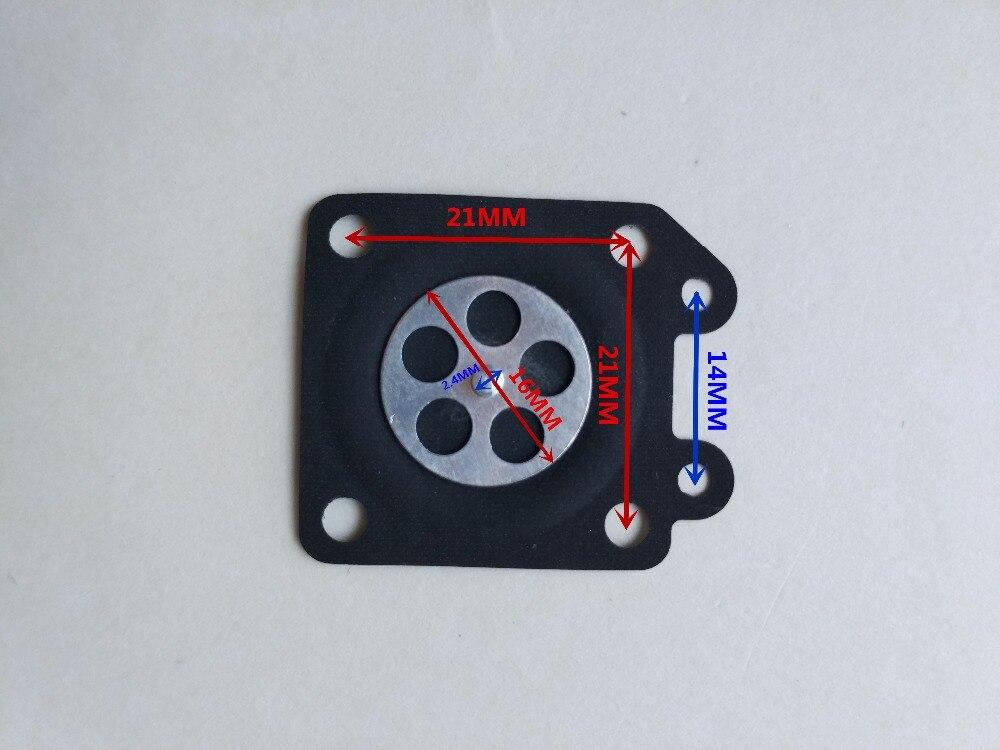 Vergaser Reparatursatz Membran Kit für STIHL HS45 FS55 FS38 BG45 # Zama RB-100