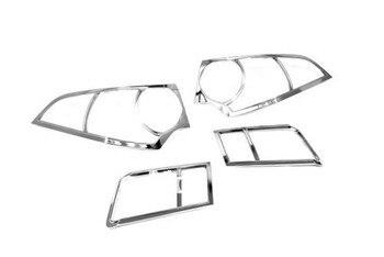 سيارة التصميم كروم الذيل ضوء مصباح غطاء لهوندا اليورو/Jdm الوفاق 2008-2012