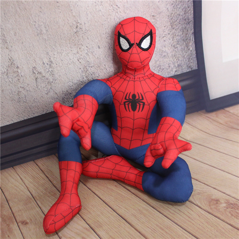 1pcs New Arrival The Avengers Spider Man Stuffed Plush Toys Spiderman Soft Gift For Children